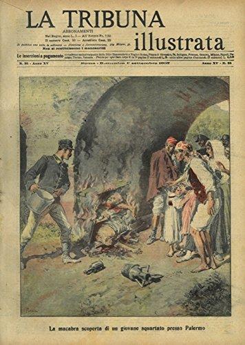 La macabra scoperta di un giovane squartato presso Palermo.