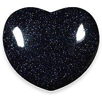 Blue Goldstone Crystal Heart - 4cm by CrystalAge preisvergleich bei billige-tabletten.eu