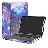 Alapmk Spécialement Conçu Protection Housses Pour 11.6' ASUS VivoBook E203NA E200HA L200HA/Chromebook C201 C201PA Series Ordinateur Portable,Galaxy