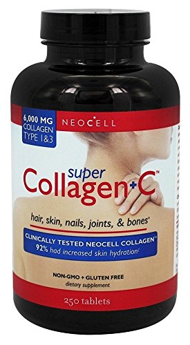 NEOCELL LABORATORIES SUPER COLLAGEN C, 250 TAB