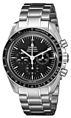 Omega Men's 3570.50.00 Speedmaster Professional Watch with Stainless Steel Bracelet