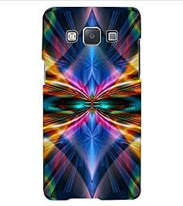 ColourCraft Abstract Image Design Back Case Cover for SAMSUNG GALAXY E5