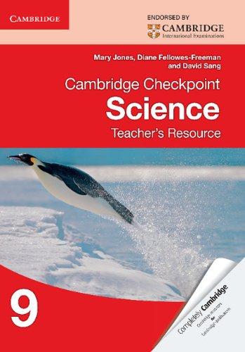 Cambridge Checkpoint Science Teacher's Resource 9 (Cambridge International Examin)