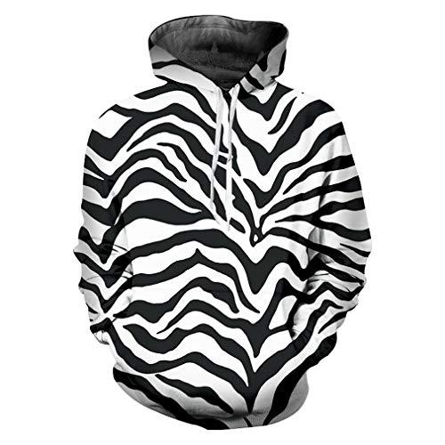 Hoodies Sweatshirts Homme Hot Hooded Leopard 3D Kapuzenpullis -