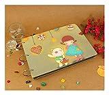 ZHAOXIANGXIANG 10 Zoll DIY Album Kind Serie DIY Album Gästebuch Handwerk Papier DIY Handgefertigten Fotoalben Für Baby Kind Fotoalbum 10 Seiten