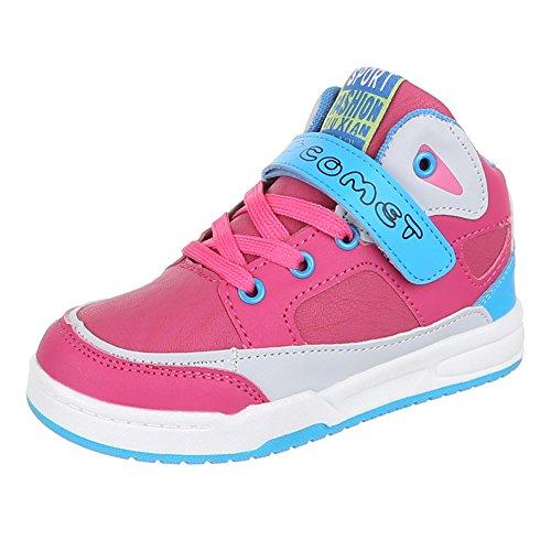 Ital-Design, Sneaker bambine Rosa (rosa)