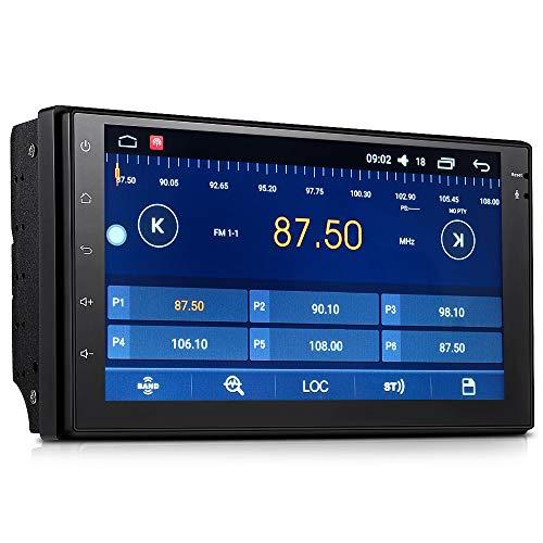 ZJYYD 7088D 7-Zoll-Quad-Core-Smart-Auto MP5-Player (Android Universal GPS Navigation One Machine) Freisprecheinrichtung Auto DVR FM/AM Radio (Wifi-radio Pandora)