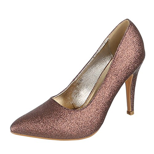 Ital-Design - Pantofole Donna Marrone (marrone)