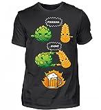 Hochwertiges Herren Shirt - Bier - Hopfen und Malz Fusion