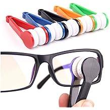 TOOGOO(R) 5 Piezas Mini gafas de sol de gafas de microfibra Gafas Limpiador