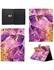 """Coque iPad 2017 iPad 9.7"""", BONROY® Smart Case Coque pour iPad 9.7 2017 TPU Souple Bumper Fermeture Magnétique avec Function Veille Automatique Etui Housse Case Cover pour iPad 9.7 2017 - purple crystal"""