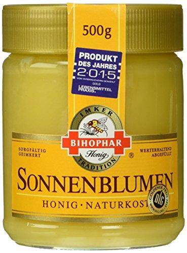 Bihophar Sonnenblumen-Honig, 5er Pack (5 x 500 g)