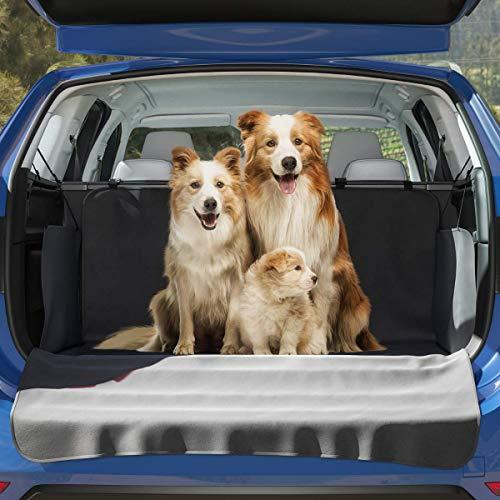 BELISY Universal Kofferraum Schutz - mit Seiten- & Ladekantenschutz - Perfekte Schutzdecke für Hunde - Auto Schondecke für einen sauberen Kofferraum