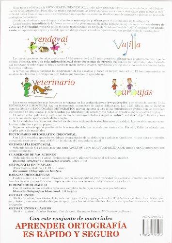 Copertina del libro Ortografía Ideovisual Nivel 1º - Tercera Edición