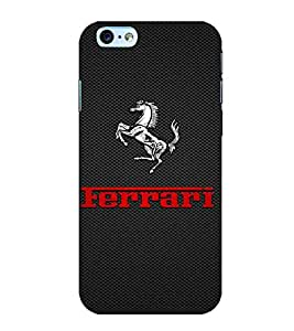 Horse, Black, Lovely pattern, Amazing Pattern, Printed Designer Back Case Cover for Apple iPhone 6s Plus :: Apple iPhone 6s+