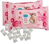 Ginni Baby Wipes (Set of 2) (60 Wipes Pe...