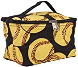 Ngil Cosmetic Pouch, Fastpitch Softball Print