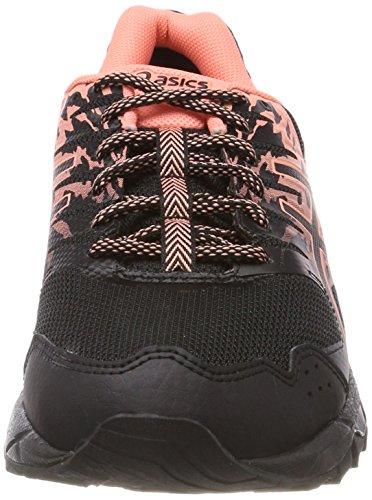 Asics Gel-Sonoma 3 G-TX, Scarpe da Running Donna Nero (Black/Begonia Pink/Black)