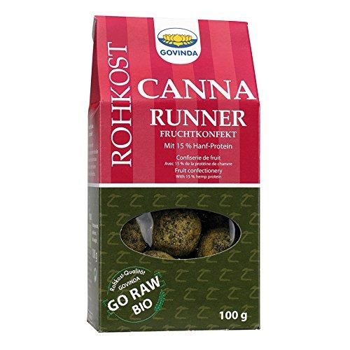 Govinda Bio Canna Runner (Hanfprotein Fruchtkugeln), 100 g