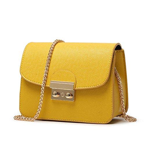 GBT Art und Weisehandtaschen-Schulterbeutel Yellow