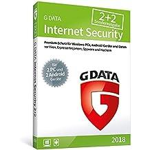 G DATA Internet Security 2018 2+2 für 2 Windows-PC + 2 Android-Geräte
