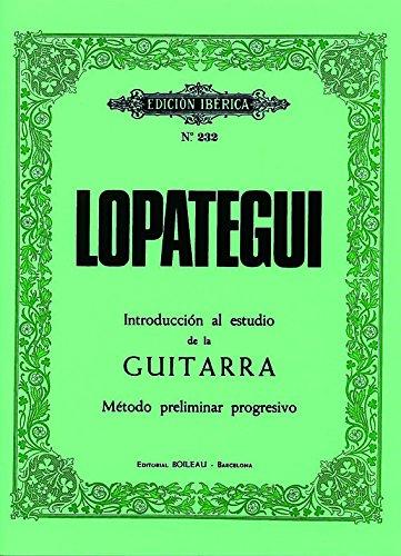 Introducción al estudio de la guitarra: Método preliminar progresivo (MONTSE GUASCH ESCOFET)