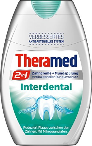 Theramed Zahncreme 2in1 Interdental, 4er Pack (4 x 75 ml)
