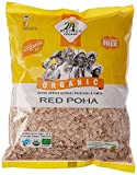#8: 24Mantra Organic Red Poha Flattened Rice 500 Grams (Pack Of 2 Pcs)