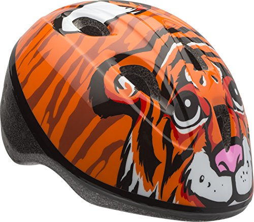 Bell Kleinkinder Zoomer Fahrrad Helm, unisex, Orange Tiger Bell Kleinkind Helm