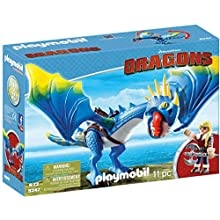 Playmobil 9247 DreamWorks Dragons Astrid and Stormfly, For Children Ages 4+