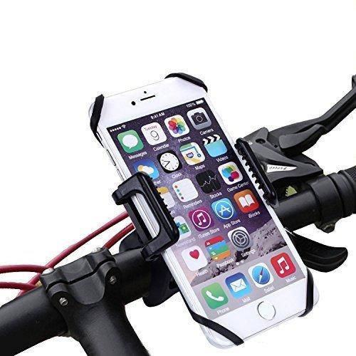 Handyhalterung Fahrrad Kasos Smartphone Halterung Universal Anti-Shake Fahrradhalterung 360 Grad Drehbar Outdoor Universalhalterung fürs Fahrrad, Ebike, Motorrad, MTB