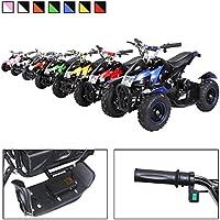 Mini Kinder Elektro Quad ATV Cobra 800 Watt 36 V Pocket Quad - Original Actionbikes Motors - Saftey Touch - Kinder E Bike (blau)