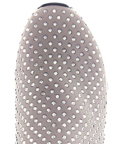 Ash Levage Taupe Néoprène & Précieuses Formateur Taupe Fabric