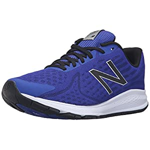 New Balance Hombre Vazee Rush v2 Running Shoe, Blue/Black