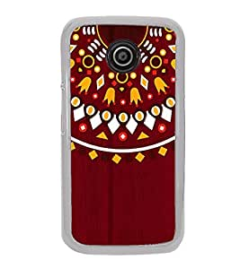 Fuson Mandela Indian Rangoli Designer Back Case Cover for Motorola Moto E2 :: Motorola Moto E Dual SIM (2nd Gen) :: Motorola Moto E 2nd Gen 3G XT1506 :: Motorola Moto E 2nd Gen 4G XT1521 (Ethnic Pattern Patterns Floral Decorative Abstact Love Lovely Beauty)