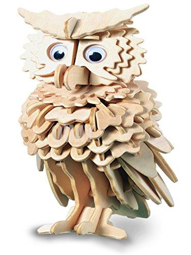 Owl Woodcraft Construction Kit