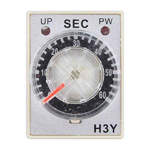 Electricity Time Relay Pointer Control Delay Timer Control Switch 14-Pin H 3Y-4 220VAC AC250V 5A Resistive(60S) Control 14 Pin