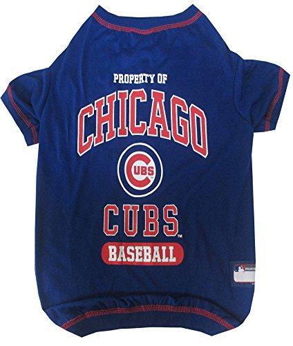 Pet Tee Shirt für Hunde und Katzen, MLB T-Shirt, Baseball-T-Shirt, 25 Teams in 4 Größen erhältlich -