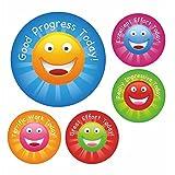 Great Effort Smile Praise Stickers