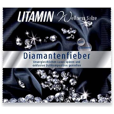 Litamin sali termali Diamantenfieber 60 g, 20 Pack (20 x