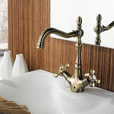 Modylee Retro Style doppio manico rubinetto del
