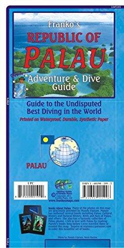 Palau Guide Map and Fishcard: Tauch- und Schnorchel Freizeitkarte (Karte Von Mikronesien)