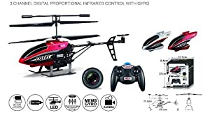 New Mjx T642c Infrared Control Gyro Camera Rc Helicopter from MJX