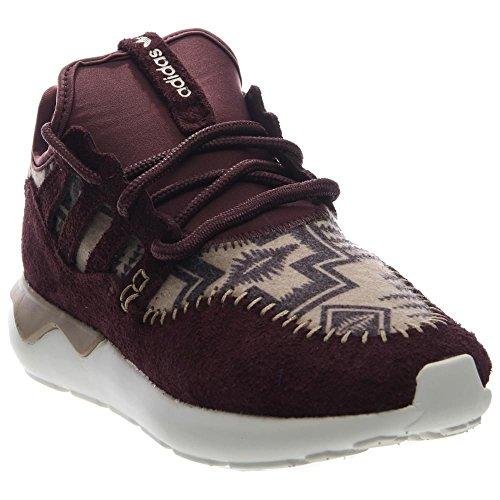 Adidas Tubular Moc Runner (core Noir / tomate Rouge) Chaussures B24693 (6) Night Red / Hemp-White