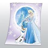 Familando schöne Eiskönigin Fleecedecke Decke 110x140cm Frozen 7579245033