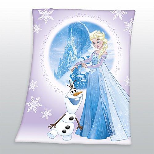 Herding 7579245033 Fleece-Decke Disney's Die Eiskönigin FROZEN 110x140cm