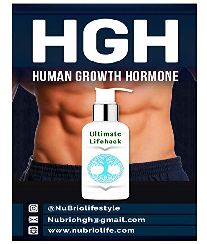 Hgh Human Growth Hormone (HGH  HUMAN GROWTH HORMONE: The Ultimate Lifehack! (English Edition))