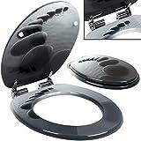 Siège de toilette avec fermeture à amortisseur - Stonedesign