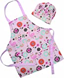 Shreds Sugar and Spice Flowers Apron and Chef's Hat Set