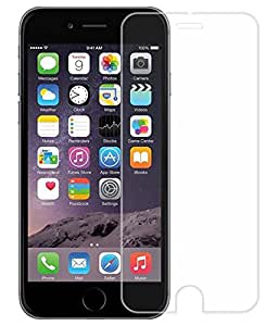 VJOY Antishock Tempered Glass Screen Protector for Apple iPhone 7 Gold (Single Front Transparent Screen Protector) Premium 2.5D Curved Edges Tempered Glass Screen Guard with 9H Hardness Full Coverage Ultra HD Clear Anti-Bubble Shatterproof - Crystal